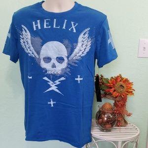 HELIX DISRTESSED t- shirt
